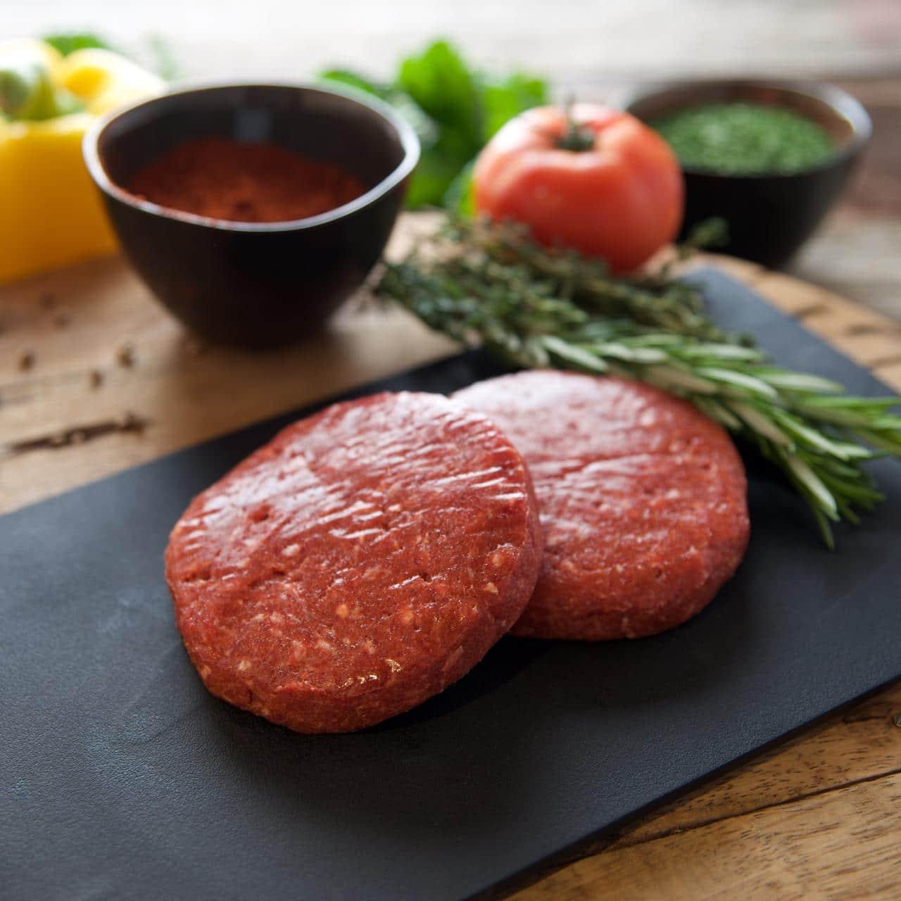 Hamburger rund/varken