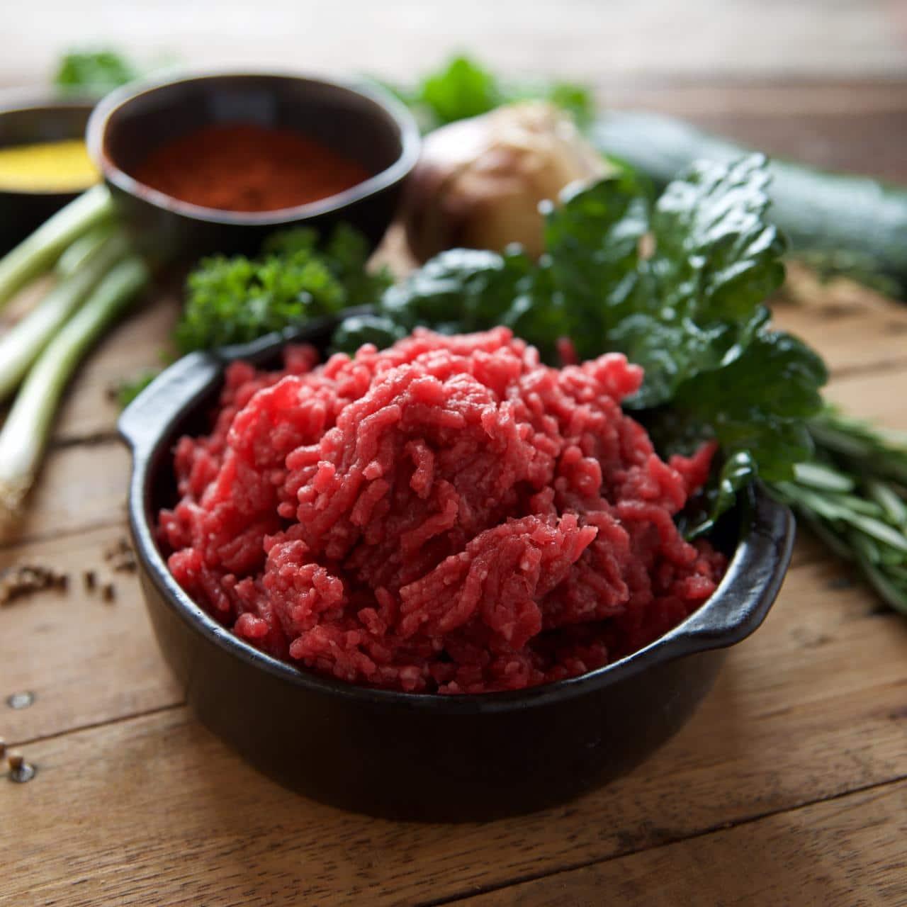 vlees bij asperges