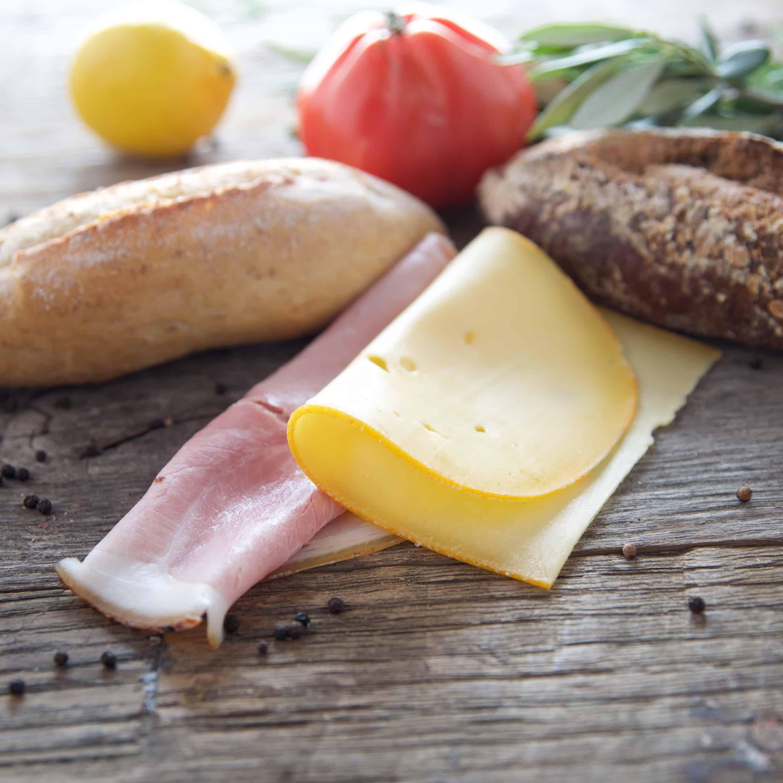 Broodje Ham en Kaas